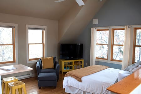 Downtown Bozeman Vacation Rental - 樓中樓