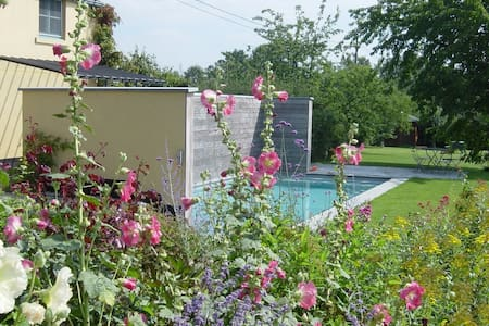NOUS HOTES charming cottage, pool  - Chaumont-Gistoux - House