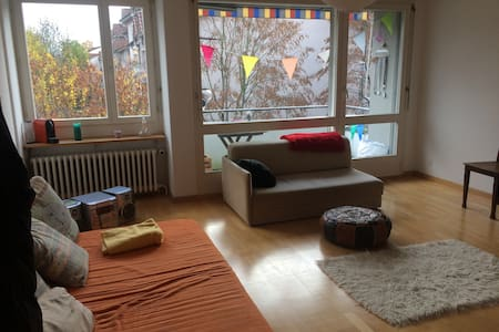 Spacious flat close to the city - Zurych - Apartament