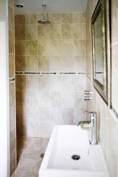 Ensuite shower/wet room
