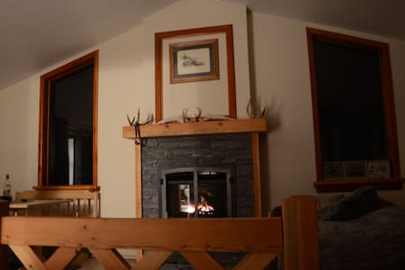 Private suite with gas fireplace - Andere