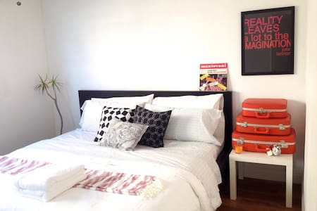 Stylish Scandinavian Bed near South Coat Plaza - 噴泉谷(Fountain Valley)