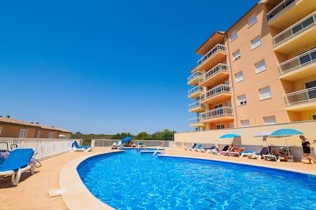 Calas de Mallorca ☼ Piscina, playa y vistas - Apartamento