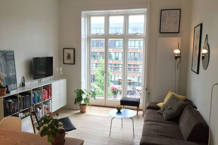 Best location in Vesterbro! Apartment with balcony - København - Apartment