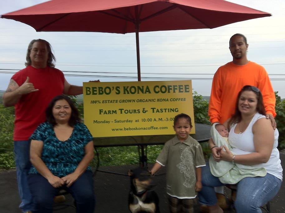 Bebo's family