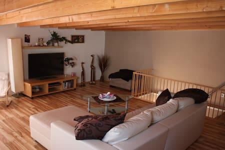 Cozy Maisonette - Apt wooden lounge - Pensió