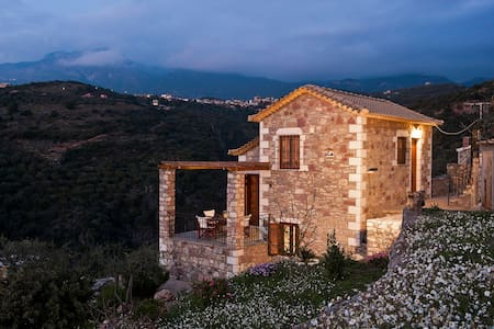 Stone built dream house - Messenia - Villa