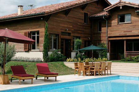 Superbe maison balinaise Landes !!!