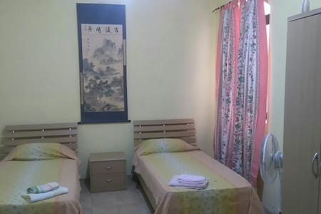 Large Two-bed room, Quiet neighbourhood & Central - Apartment