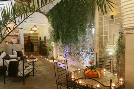 Riad El Bellar  -  Chambre Bahia - Bed & Breakfast