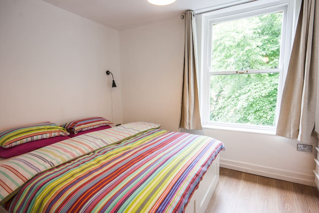 MASTER BEDROOM with large comfy double beds and duvets, anti allergy pillows and EN SUITE bathroom