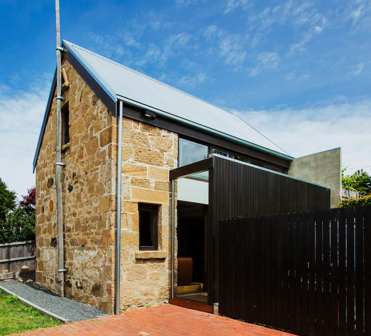 Stone Flower Barn...A special little gem in the heart of West Hobart.