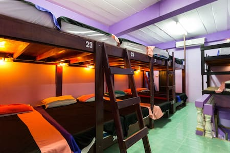 14-Bed Dorm in a Hostel @ FULL MOON - Ko Pha Ngan - Dormitorio compartido