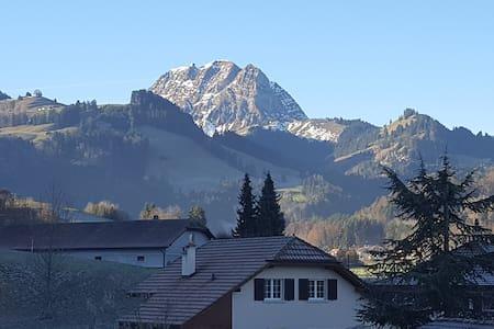 Appatement idéal pour des vacances de ski - Gruyères - Apartmen