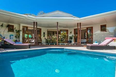 Villa 14 Luxury pool house in Byron