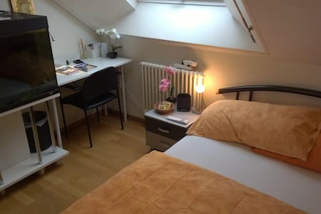 Cozy room incl. FREE public transport & breakfast! - Apartment