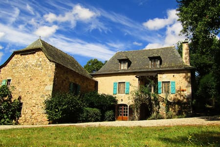 A stunning farmhouse in the heart of the Averyon - La Fouillade - Dom