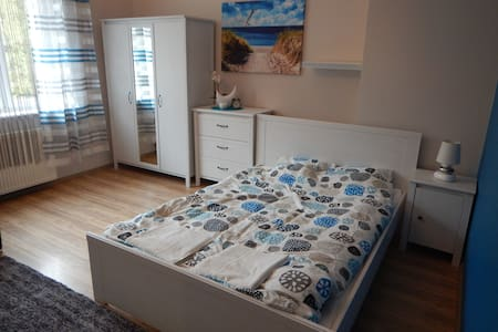 Fantastic room on the riverside, City Center. - Szczecin - Wohnung