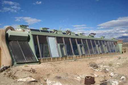 The Corner Cottage Earthship, Taos!