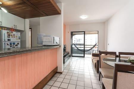 Flat 2 quartos (rooms). Conforto!