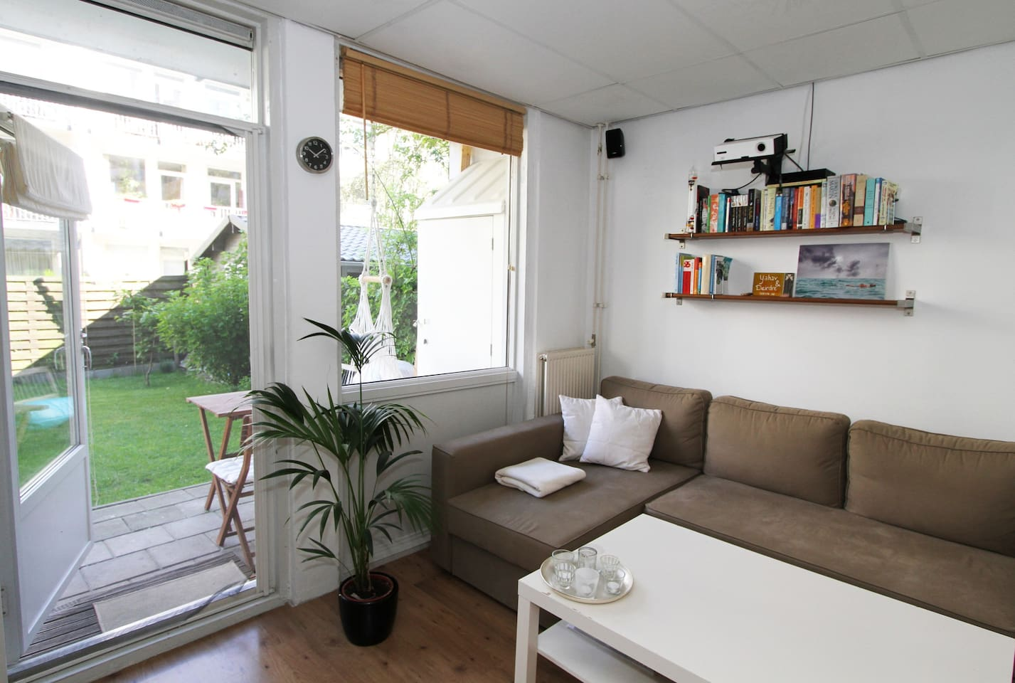 Living Room -  Clean,Cozy & Central + Free Bikes