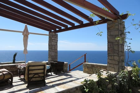 Beautiful SeaView Villa- Armenistis - Ikaria - Willa
