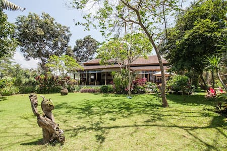 Villa big garden and pool in ricefields near beach - Tabanan