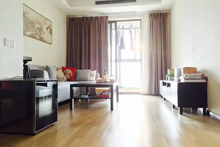 简约清新高端小区观景房,高档三星电子锁羽绒被舒适床垫,星级享受 - Apartment