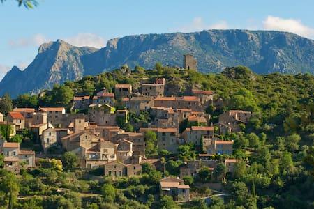 Feriehus i smuk fransk bjerglandsby