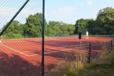 IN NATUURPARADIJS met  tennisbaan en zwembad - Crux-la-ville - Casa