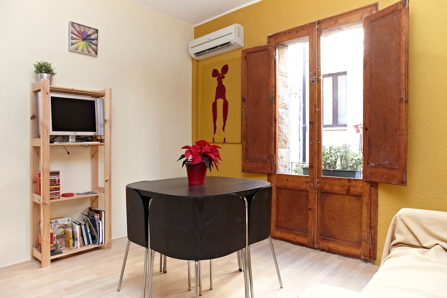 Dinning Room with Air Conditioner