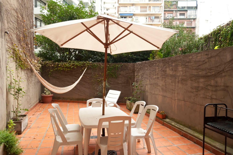 Palermo-Cañitas 1bd with big patio