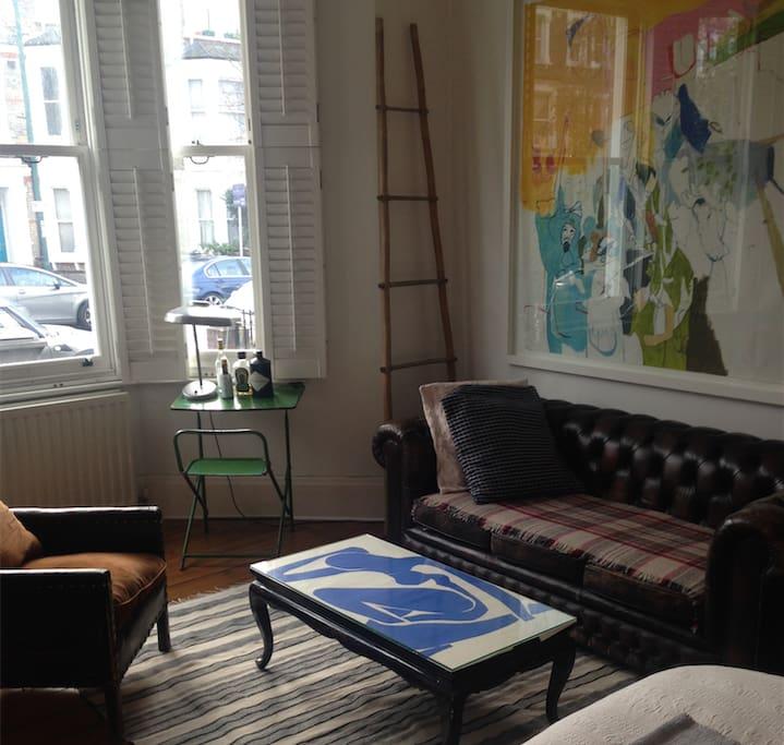 Living room / second bedroom