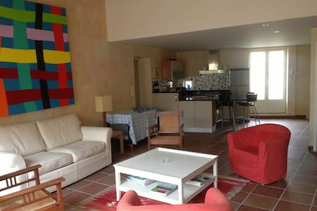 Maison de village dans le Languedoc - Haus