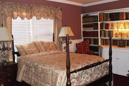1 bedPrivate Room with Library in Mansion near USC - Los Angeles - Bed & Breakfast
