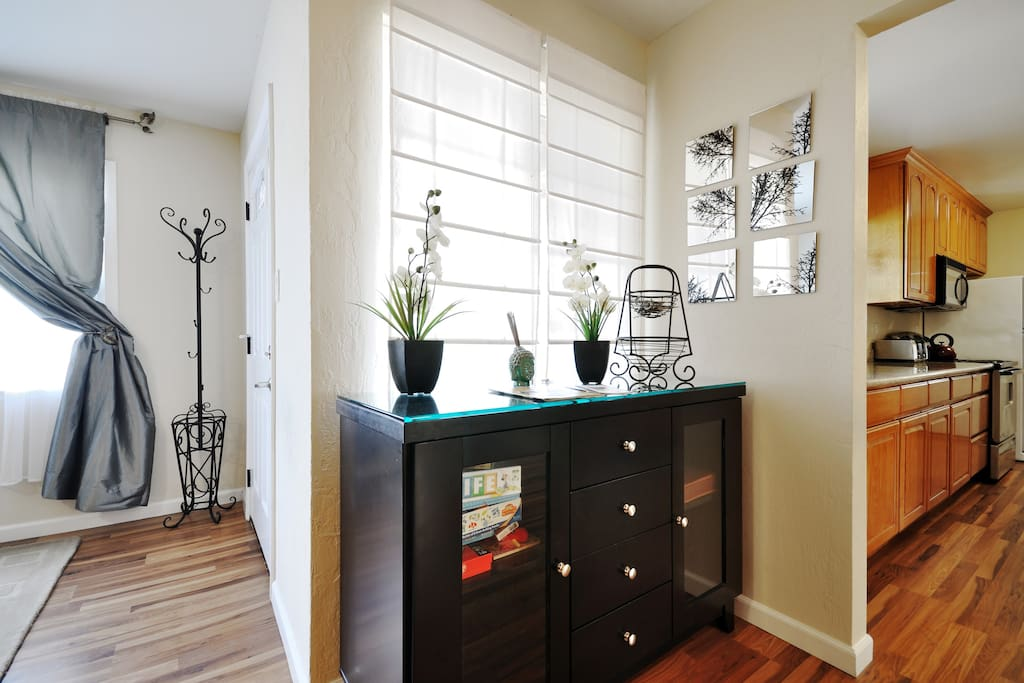 Each of the property's three bedrooms has plenty of storage space for your clothes and belongings.