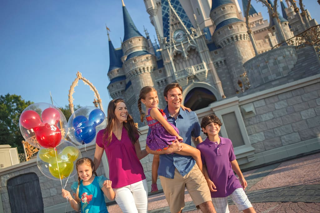 Slaapkamerdeur Slot : Family Disney World Orlando