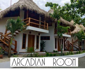 CASITAS PACIFIC | ARCADIAN ROOM | PLAYA GUASACATE - Popoyo - Bed & Breakfast