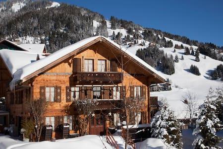 Chalet Beau-Site, typique chalet de montagne - Hus