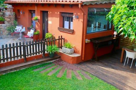 Garden house: Casa Rosa. - Santa Cristina d'Aro - Dom