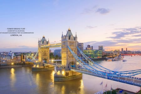 Master Bedroom by Tower Bridge not to be missed! - Londres - Apartamento
