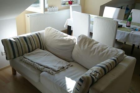 Schöne, helle, großzügige Wohnung - Apartment