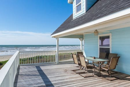 Beachfront Beauty in Galveston - Ház