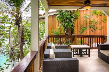 Villa Arenal: ocean view, beach access, pool (6+) - Villa