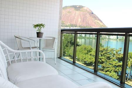 Vista deslumbrante para a Lagoa - Rio de Janeiro