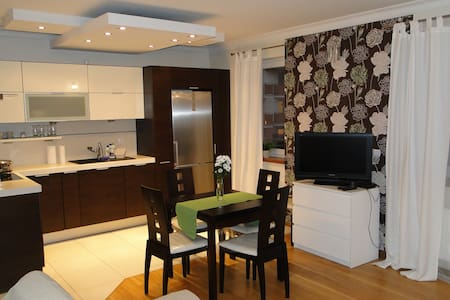 A luxury apartment in a safe neighbourhood. - Wrocław - Apartemen