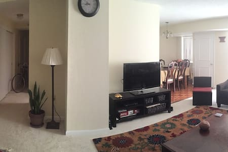 1 BR in 2 BR - 5 min walk to Metro