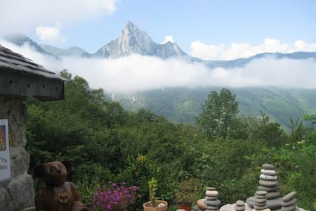 gîte de montagne en vallée d'Aspe - Dům
