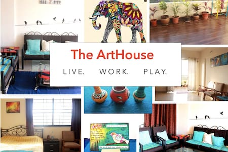 ARTHOUSE IN THE HEART OF THE CITY - Pune - Appartamento