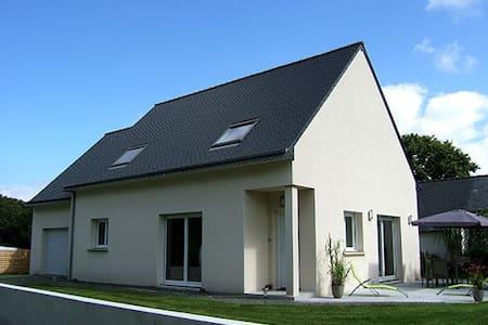Jolie maison neuve - Wifi - Telgruc-sur-Mer - Haus
